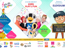 KIDS PLAY&FUN  si spectacol PAM PAM
