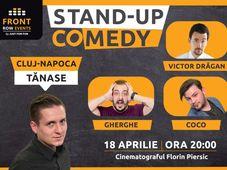 Cluj-Napoca: Stand-up comedy cu Tănase, Gherghe, Coco & Victor Drăgan
