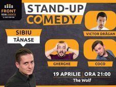 Sibiu: Stand-up comedy cu Tănase, Gherghe, Coco & Victor Drăgan