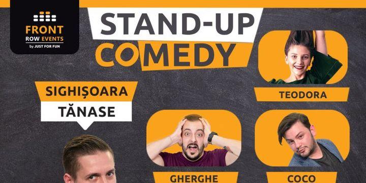 Sighișoara: Stand-up comedy cu Tănase, Gherghe, Coco & Teodora Nedelcu