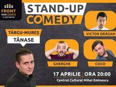Târgu Mures: Stand-up comedy cu Tănase, Gherghe, Coco & Victor Drăgan