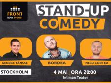 Stockholm: Stand-up comedy cu Bordea, George Tănase & Nelu Cortea