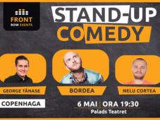 Copenhaga: Stand-up comedy cu Bordea, George Tănase & Nelu Cortea