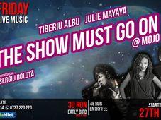 The Voice - Tibi Albu & Julie Mayaya @Mojo guest Sergiu Bolota