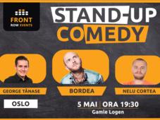 Oslo: Stand-up comedy cu Bordea, George Tănase & Nelu Cortea