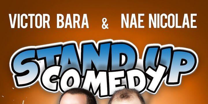Stand up Comedy in Germania - Ulm cu Nae Nicolae si Victor Bara