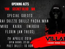 Villain in Bucharest @ Mojo - Band launch