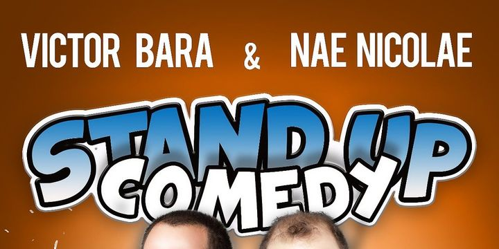 Stand up comedy in Germania - Frankfurt-Offenbach cu Nae Nicolae si Victor Bara