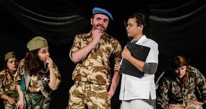 "Teatrul Coquette: ""Colonelul si pasarile"""