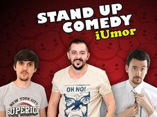 Stand Up Comedy iUmor cu Gabriel Gherghe, Victor Drăgan si Petrica Istoc