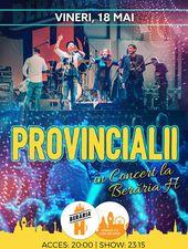 Provincialii în concert la Berăria H