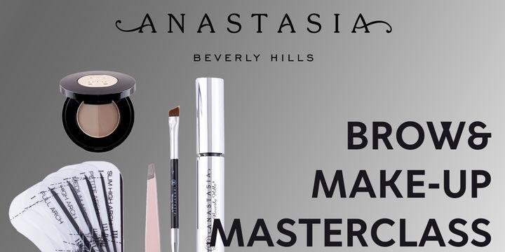 1st Anastasia Beverly Hills Brow&Make-up MasterClass