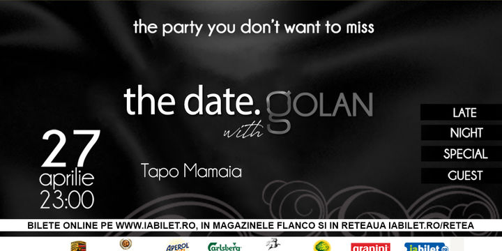 the date. with Golan