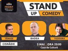 Cisnădie: Stand-up comedy cu Badea, Tănase & Teodora Nedelcu