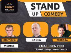 Mediaș: Stand-up comedy cu Badea, Ionuț Rusu & Teodora Nedelcu