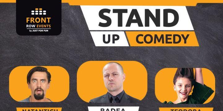 Sibiu: Stand-up comedy cu Badea, Natanticu & Teodora Nedelcu