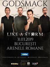 GODSMACK in concert la Bucuresti