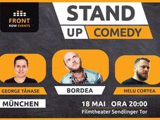 München: Stand-up comedy cu Bordea, Cortea & George Tănase