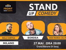Milano: Stand-up comedy cu Bordea, Ana-Maria Calița & Nelu Cortea