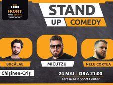 Chișineu-Criș: Stand-up comedy cu Micutzu, Bucălae & Cortea