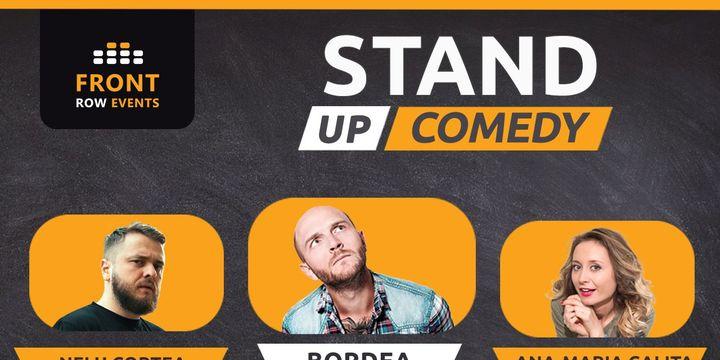 Padova: Stand-up comedy cu Bordea, Ana-Maria Calița & Nelu Cortea