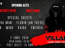 Villain - Codex Gigas Tour 2018 - The Opening