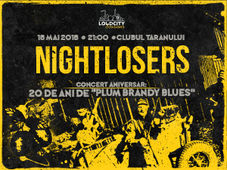 Loudcity Sessions cu NIGHTLOSERS: concert aniversar - 20 de ani de Plum Brandy Blues