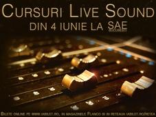 Curs LIVE SOUND - din 4 iunie - Lector Radu Layer Dobra