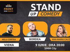 Viena: Stand-up comedy cu Bordea, Ana-Maria Calița & Nelu Cortea