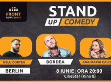 Berlin: Stand-up comedy cu Bordea, Ana-Maria Calița & Nelu Cortea