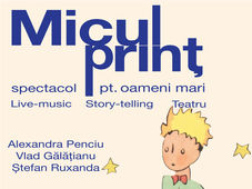 Micul Prinț - spectacol pentru oameni mari