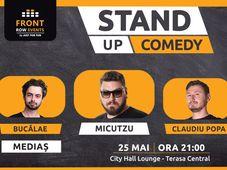 Mediaș: Stand-up comedy cu Micutzu, Claudiu Popa & Radu Bucălae