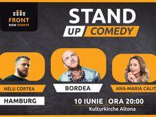 Hamburg: Stand-up comedy cu Bordea, Ana-Maria Calița & Nelu Cortea