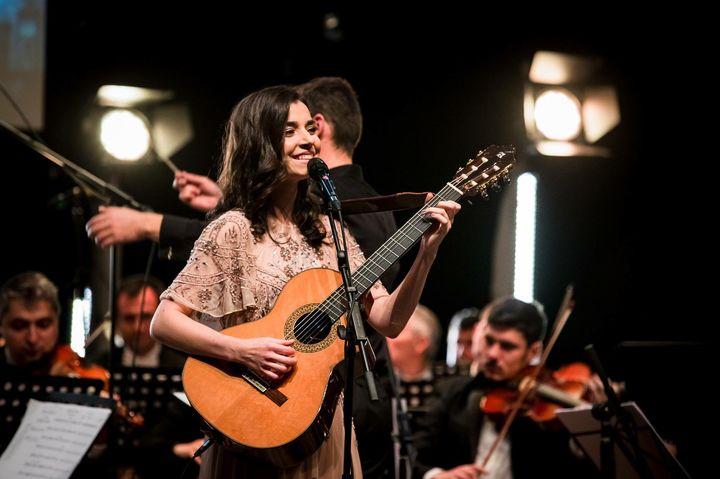 Alexandra Ușurelu & band în concert la Piatra Neamț