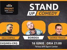 Chișineu-Criș: Stand-up comedy cu Bordea, Tănase & Nelu Cortea