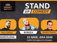 Barcelona: Stand-up comedy cu Bordea, Nelu Cortea & George Tănase