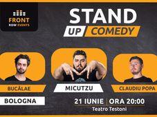 Bologna: Stand-up comedy cu Micutzu, Bucălae & Claudiu Popa