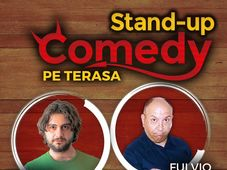 STAND-UP COMEDY pe TERASA Grill Pub!