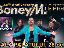 Boney M feat Liz Mitchell - 40th Anniversary ( opening act Ottawan )