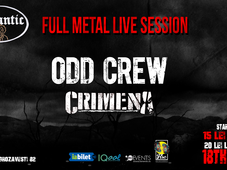 Full Metal Live Session: ODD CREW & Crimena @Quantic