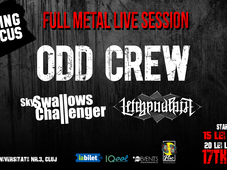 Full Metal Live Session: ODD CREW // Sky Swallows Challenger //Left Hand Path @Flying