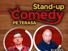 STAND-UP COMEDY pe TERASA Grill Pub!