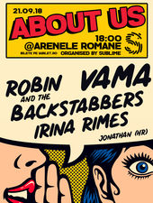 About Us: Vama, Robin and the Backstabbers, Irina Rimes