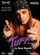Tuff (American Glam Legends) / live in Quantic - open air