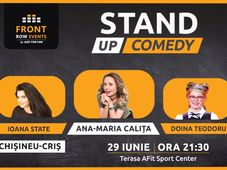 Chișineu-Criș:  Stand-up comedy - Girls Night cu Ana-Maria Calita, Doina Teodoru & Ioana State