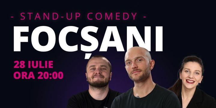 Focșani: Stand-up comedy cu Bordea, Nelu Cortea & Teodora Nedelcu