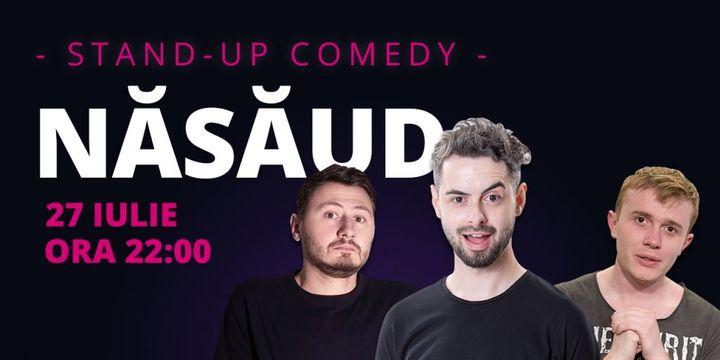 Năsăud: Stand-up comedy cu Radu Bucălae, Ionuț Rusu & Claudiu Popa