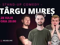 Târgu Mureș: Stand-up comedy cu Radu Bucălae, Ionuț Rusu & Claudiu Popa