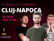 Cluj-Napoca: Stand-up comedy cu Radu Bucălae, Ionuț Rusu & Claudiu Popa