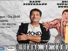 Stand UP Comedy cu Doru Octavian Dumitru și Radu Pietreanu